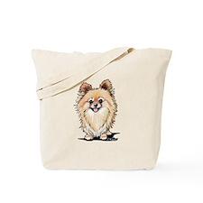 KiniArt Bella Pom Tote Bag