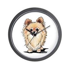 KiniArt Bella Pom Wall Clock