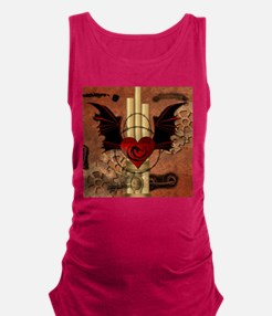 Heart with dragon Maternity Tank Top