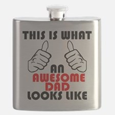 What An Awesome Dad Looks Like Flask
