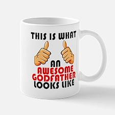 What An Awesome Godfather Looks Like Mugs