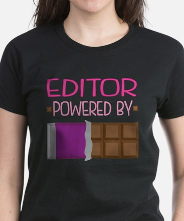 Editor Women's Dark T-Shirt