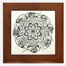 Rat Mandala Framed Tile