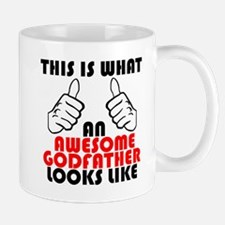 What An Awesome Godfather Looks Like Mugs