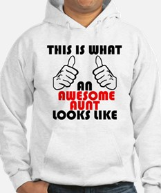 What An Awesome Aunt Looks Like Hoodie
