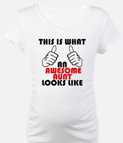What An Awesome Aunt Looks Like Shirt