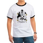 Boughton Family Crest Ringer T