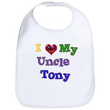 I LOVE MY UNCLE TONY Bib