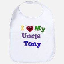 I LOVE MY UNCLE TONY Bib