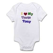I LOVE MY UNCLE TONY Infant Bodysuit