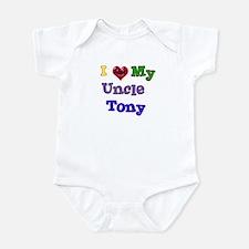 I LOVE MY UNCLE TONY Infant Bodysuit