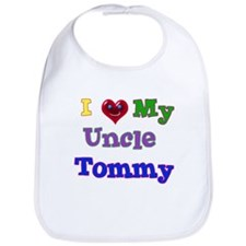 I LOVE MY UNCLE TOMMY Bib