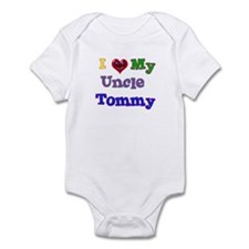 I LOVE MY UNCLE TOMMY Infant Bodysuit