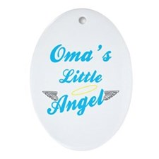 Oma's Little (Boy) Angel Ornament