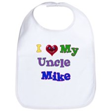 I LOVE MY UNCLE MIKE Bib