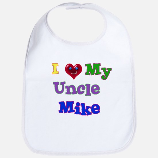 I LOVE MY UNCLE MIKE Bib