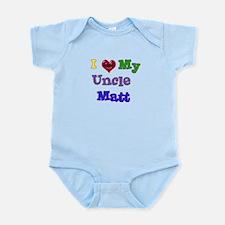 I LOVE MY UNCLE MATT Infant Bodysuit