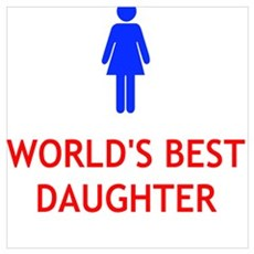 WORLD'S BEST DAUGHTER Poster