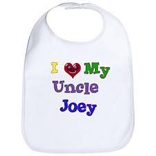I LOVE MY UNCLE JOEY Bib