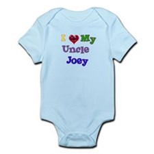 I LOVE MY UNCLE JOEY Infant Bodysuit
