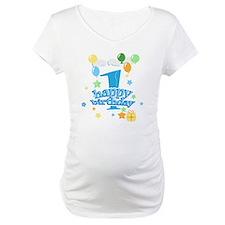 1st birthday blue Shirt