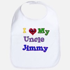 I LOVE MY UNCLE JIMMY Bib