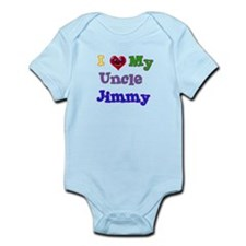 I LOVE MY UNCLE JIMMY Infant Bodysuit
