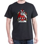 Boteler Family Crest Dark T-Shirt