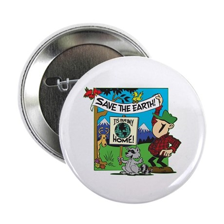 """Save Our Earth! 2.25"""" Button (100 pack)"""