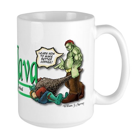 """Gamers Hot Stuff"" Large Mug"