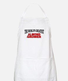 """The World's Greatest Almond Grower"" BBQ Apron"