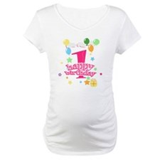 1st birthday pink Shirt