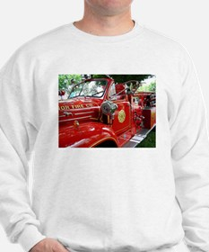 red fire engine 1 Sweatshirt