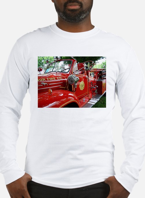 red fire engine 1 Long Sleeve T-Shirt