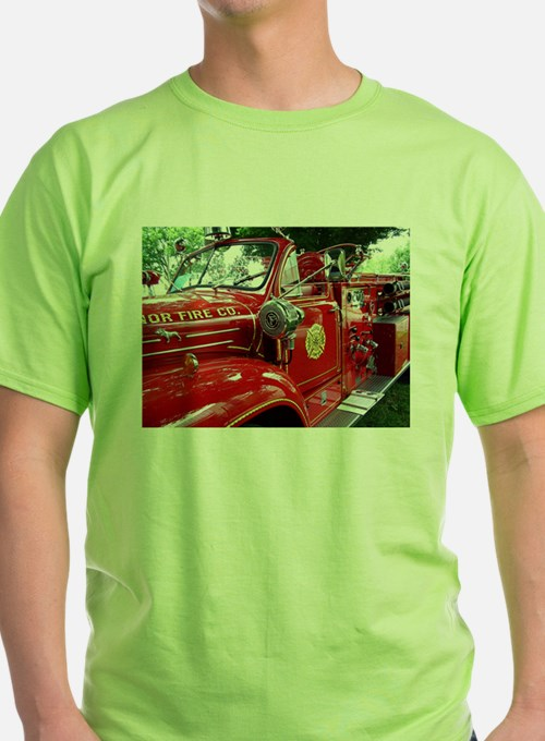 red fire engine 1 T-Shirt