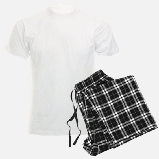 Sled Pic White Pajamas