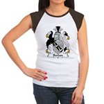 Borlase Family Crest Women's Cap Sleeve T-Shirt
