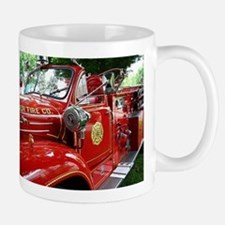 red fire engine 1 Mugs