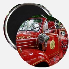 red fire engine 1 Magnets