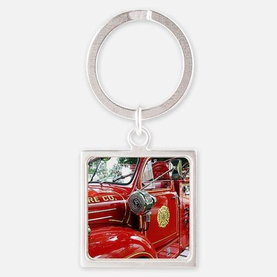 red fire engine 1 Keychains