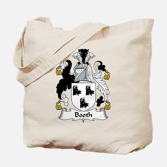Booth Family Crest Tote Bag