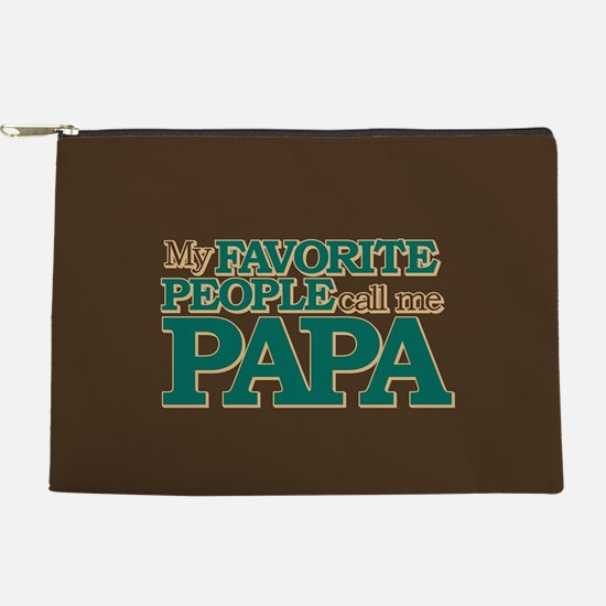 My Favorite People Call Me Papa Makeup Pouch