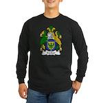 Booker Family Crest Long Sleeve Dark T-Shirt