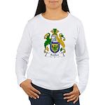 Booker Family Crest Women's Long Sleeve T-Shirt
