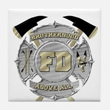 BrotherHood fire service 1 Tile Coaster