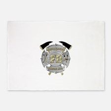 BrotherHood fire service 1 5'x7'Area Rug