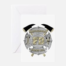 BrotherHood fire service 1 Greeting Cards