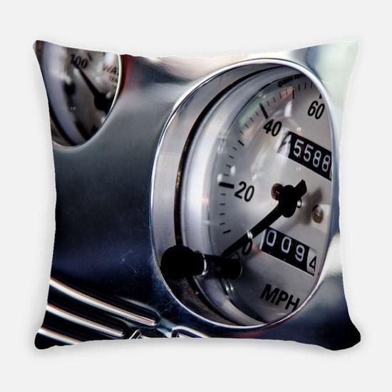 Dashboard Speedometer Everyday Pillow