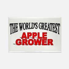 """""""The World's Greatest Apple Grower"""" Rectangle Magn"""