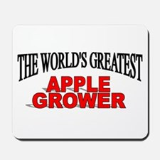"""""""The World's Greatest Apple Grower"""" Mousepad"""